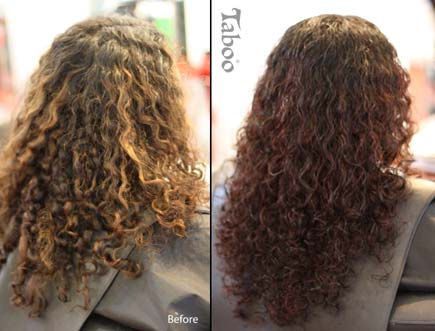 curly hair hairstylist result photos