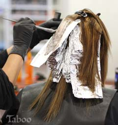 Hair Colour Highlights Foils