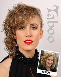 Curly Highlights hairstyle by karori hair stylist in Wellington