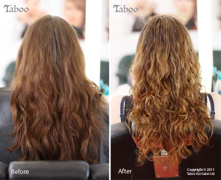 Ombre Balayage highlight before and after photos