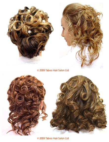 Hair Up / Updo  Designs - Taboo Hair Salon